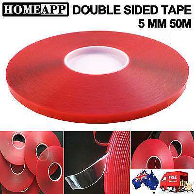 5MM*50M Double Sided Strong Economy Adhesive Super Sticky Clear Tape Multi-role
