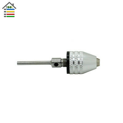 Electric Grinder Keyless Drill Chucks 0.5-4mm with 2.3mm Shank For Dremel Rotary