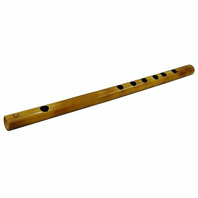 Bamboo Traditional Wooden Flute Handmade Brown Bansuri Musical Instrument Decor