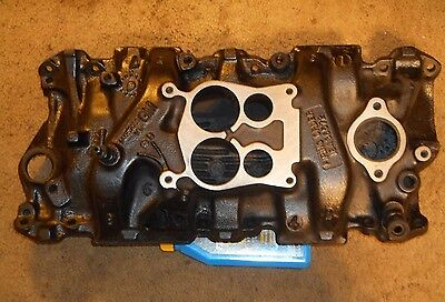 SBC GMC Chevy Cast Iron 4 BBL Crows Foot Intake 14057055