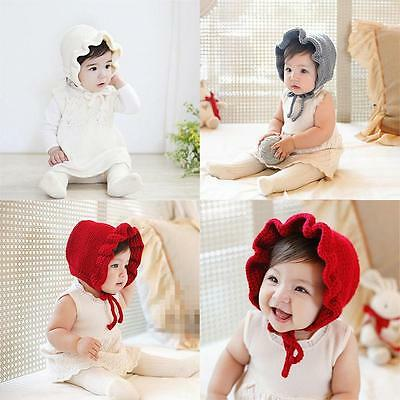 Girl Infant Baby Newborn Crochet Handmade Hat Cap Beanie Bonnet Hair Accessories