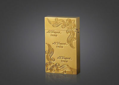NEW hot sell gold color S.T Memorial lighter Bright Sound ! free shipping