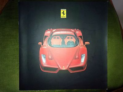 Ferrari Enzo Brochure/press + CD 2002