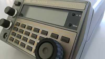 AOR AR-3000A Receiver Scanner 100KHZ to 2036MHZ continuous!! UNBLOCKED! TESTED!