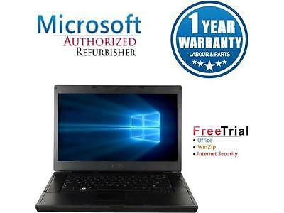 "DELL E6510 15.6"" Grade B Laptop Intel Core i5 1st Gen 520M (2.40 GHz) 250 GB HDD"