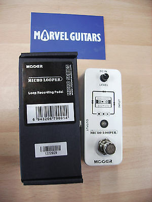 Mooer Micro LOOPER electric guitar effects pedal, true bypass, simple operation!