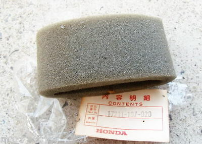 Honda CB100 CB125S CL100 CL125S SL100 SL125 TL125 XL100 XL75 XR75 Air Filter New