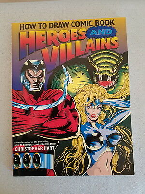 Christopher Hart ¤ How To Draw Comic Book Heroes And Villains ¤ 1995