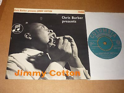 "Jimmy Cotton ""Chris Barber Presents......"" Columbia EP (Alexis Korner)"