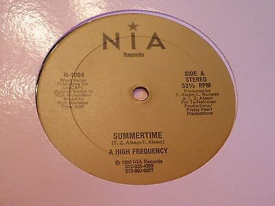 High Frequency - Summertime - Nia - Modern Soul - MP3