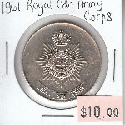 Royal Canadian Army Corps 1961 Medallion