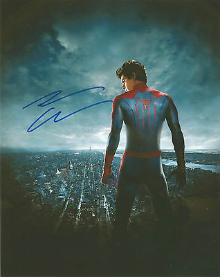 ANDREW GARFIELD signed autograph 10x8 with Coa