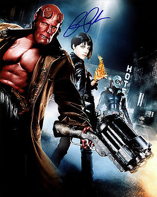 RON PERLMAN  signed autograph 10x8 with Coa