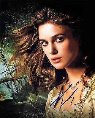 KEIRA KINGHTLEY  signed autograph 10x8 with Coa