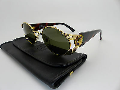 Versace Gianni Sunglasses Mod S65 Col 030  Vintage Genuine New Old Stock