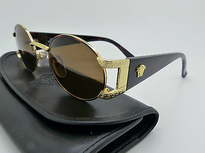 Versace Gianni Sunglasses Mod S60 Col 14L Genuine Rare Vintage New Old Stock