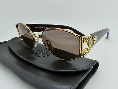 Versace Gianni Sunglasses Mod S63 Col 14L Genuine Vintage New Old Stock
