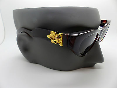 Versace Gianni Sunglasses Mod 476/A Col 900 Genuine Rare Vintage New Old Stock