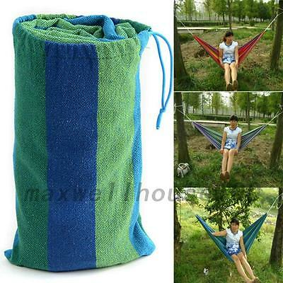 Outdoor Swing Fabric Camping Hanging Hammock Mosquito Net Parachute Bed Creative