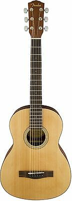 Fender MA-1 3/4 Steel String Acoustic Guitar Agathis Top Satin Body Finish MA1