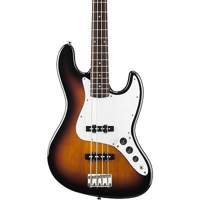 Squier Affinity Jazz Bass Guitar - 3 Tone Sunburst FREE CABLE