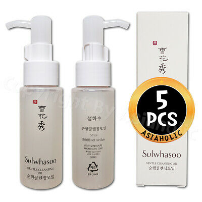 Sulwhasoo Gentle Cleansing Oil 50ml x 5pcs (250ml) Probe AMORE PACIFIC