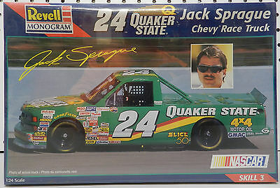 Chevy Pickup Truck Craftsman 24 Quaker State Jack Sprage 1997 Revell Model Kit