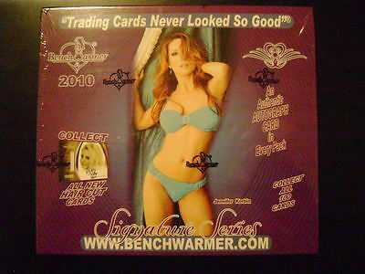 2010 Benchwarmer Signature Series SEALED BOX 10 Packs Autograph in every PACK!!!