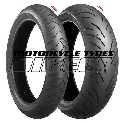 Bridgestone Battlax Bt023 Pair 120/70-17 + 190/50-17 Free Post Motorcycle Tyres