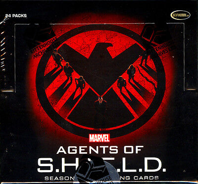 2015 Marvel Agents of SHIELD Season 2 Trading Cards SEALED HOBBY BOX