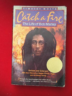 Book - Catch a Fire, The Life of Bob Marley by Timothy White