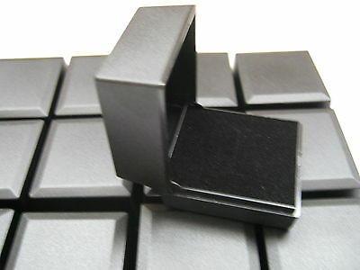 WHOLESALE 25 x NEW BLACK RING BOXES GREAT FOR JEWELLERY CRAFT PRESENTATION