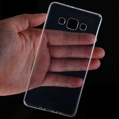 1x Ultra Thin Soft TPU Gel Transparent Clear Protect Back Case Cover for Samsung