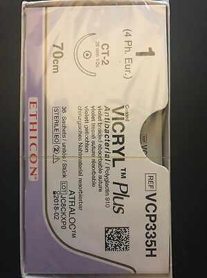 Nahtmaterial Ethicon Vicryl Coated Plus  1,VCP335H