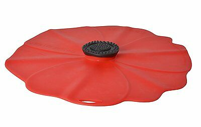 """Charles Viancin Silicone Lid - Poppy -  6"""""""