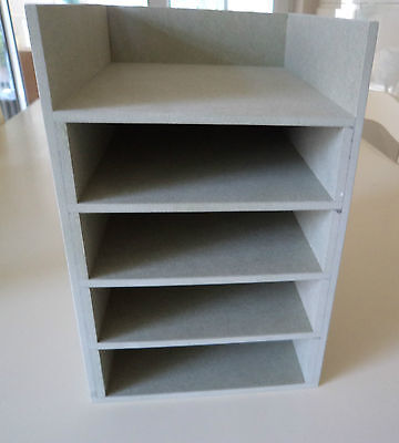 Hand Crafted Freestanding A5 Mdf Paper Storage unit