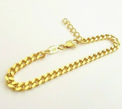 Argos Source 22 inch 18ct Gold Necklace 2mm thick Curb Chain