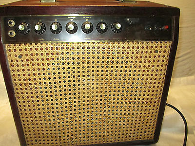 80's KITTY HAWK JUNIOR COMBO TUBE AMP -- made in GERMANY