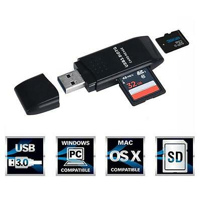 MINI 5Gbps Super Speed USB 3.0 Micro SD SDXC TF Memory Card Read/Write Adapter.