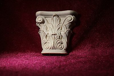 Carved  Wooden Corbels. Decorative  wooden elements. 2pcs