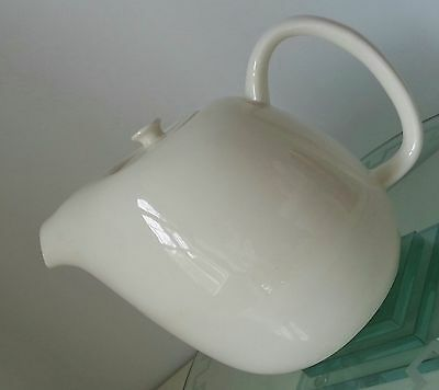 Russel Wright American Modern , steubenville,white large coffee pot,unused