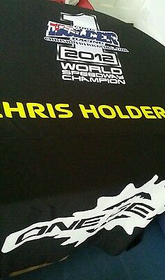 SPEEDWAY chris holder fantastic table cover this is a one off (read description)