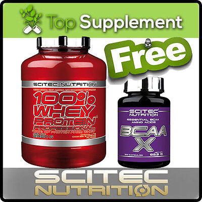 Scitec Nutrition 100% WHEY PROTEIN PROFESSIONAL Pro 2350g + BCAA-X 120caps