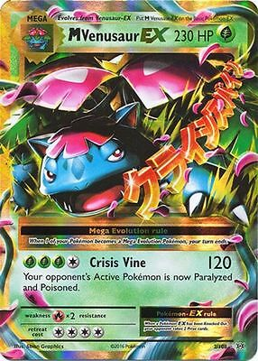 M Venusaur EX XY Evolutions #2 Mint Ultra Rare Pokemon Card *FREE SHIPPING*