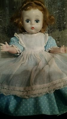 "Vintage 8"" Madame Alexander-Kins Amy BNW Doll w Original Tagged Outfit"