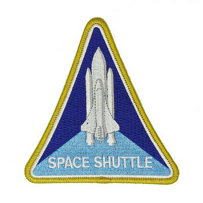 NASA Space Shuttle Patch | Iron On /Sew On Costume | US Seller - FREE Shipping