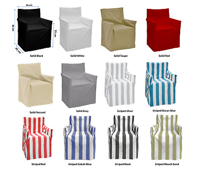 NEW 100% Cotton Alfresco Director's Chair Cover RRP $49.95 (13 Colors)