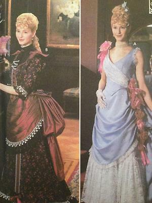 Simplicity Sewing Pattern 5457 Misses Titanic Victorian Madame Size 6-12 Uncut