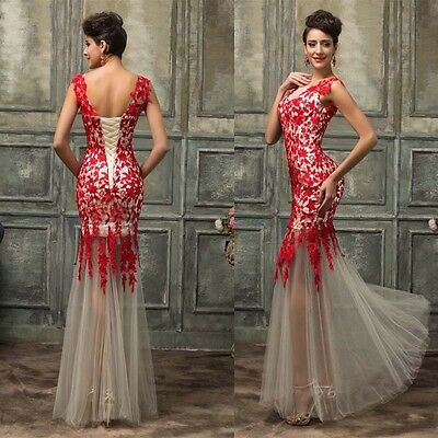 New Women Formal Wedding Evening Party Cocktail Dress Bridesmaid Prom Ball Gown