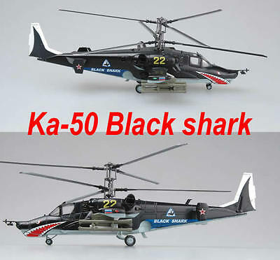 Easy Model 1/72 Russian Air Force Ka-50 Black shark Helicopter Plastic #37023